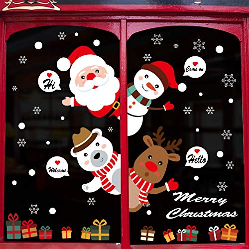UMIPUBO Pegatinas Navidad Pegatina Pared Decorativos