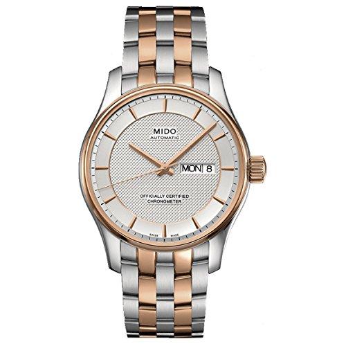 Mido Belluna m0014312203192–Wristwatch men's, stainless steel strap Multicoloured