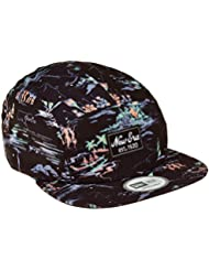 New Era Offshore Casquette Homme, Noir, FR : OSFA (Taille Fabricant : OSFA)