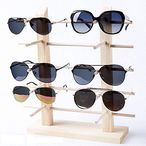 G-Hawk® Sonnenbrille Ausstellungsstand Massivholz Glas Display Halter Holz Sonnenbrille Glas Rack Rahmen Gläser Ausstellungsstand Halter Veranstalter