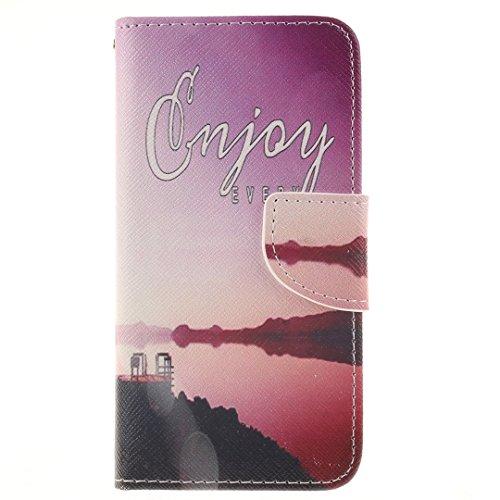 iPhone 6 / 6S Hülle im Bookstyle, Xf-fly® PU Leder Flip Wallet Case Cover Schutzhülle für Apple iPhone 6 / 6S(4.7 Zoll) Tasche Handytasche Schutz Etui Schale Handyhülle P-15