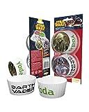 Horror-Shop 50 Star Wars Krieg der Sterne Muffin Papier-Förmchen
