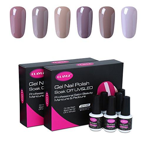 clavuz-gel-nail-polish-6pcs-kits-soak-off-uv-led-colour-varnish-manicure-nail-salon-set