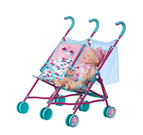 Baby Born 1423493doble cochecito de muñeca Accesorios