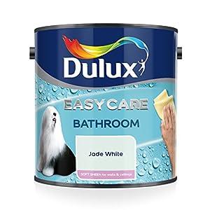 Dulux Easycare Bathroom Plus Soft Sheen Paint, Jade White, 2.5 Litre