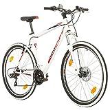 BIKE SPORT LIVE ACTIVE 27,5 Zoll Bikesport Thunder Herren Fahrrad MTB Mountainbike Hardtail Shimano 21 Gang (Weiß Matt, XL)