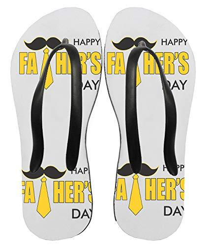 Ciabatte Infradito Happy Father's Day - buona Festa del papà - Cravatta - Idea Regalo