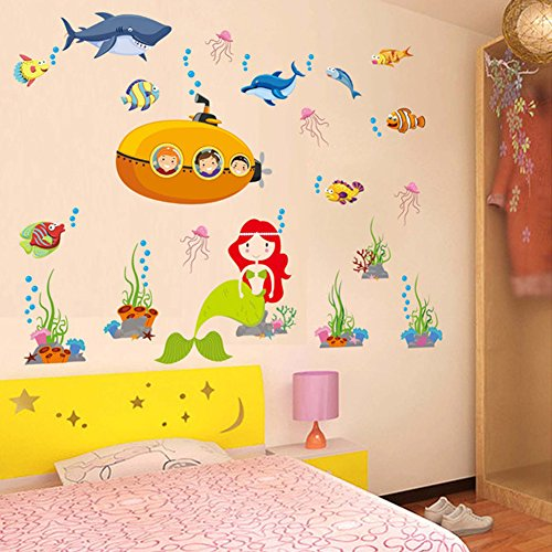 wallpark-cartoon-underwater-world-sea-fish-dolphin-mermaid-removable-wall-sticker-decal-children-kid