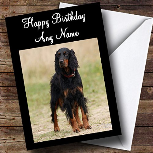 gordon-setter-personalised-birthday-card