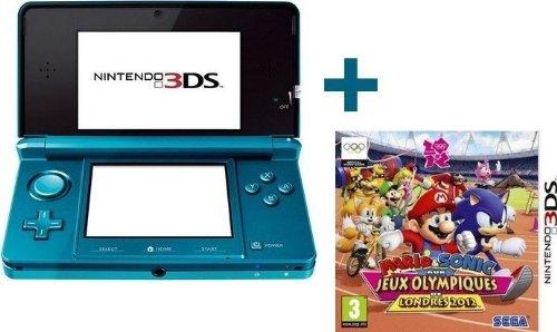 3DS BLEUE LAGON + MARIO & SONIC J.O. DE LONDRES