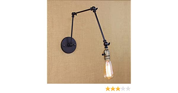 Lampada Vintage Da Parete : Ydtao lights stile loft illuminazione industriale vintage lampada da