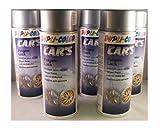 Color Dupli 385919 Vernice spray per cerchi in alluminio, 6 flaconi spray da 400 ml