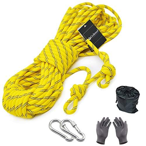GVNCO Klettern im Freien Sicherheitsgurt Abseilen Seil Gebündeltes Seil Hilfskabel 8mm 10/15/20/30/50m (größe : 30M)