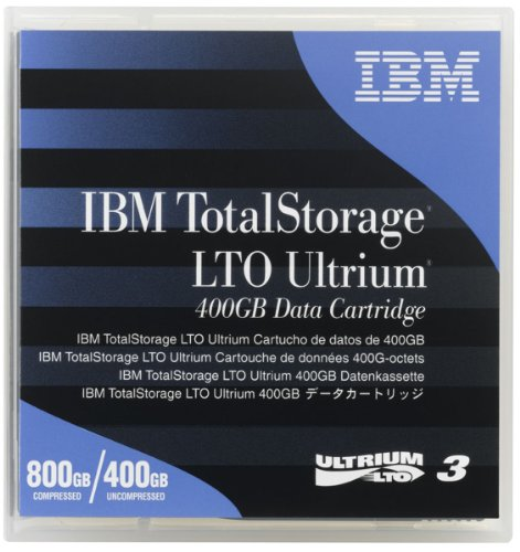 IBM TotalStorage - LTO Ultrium x 1 - 400 GB , Hersteller: IBM