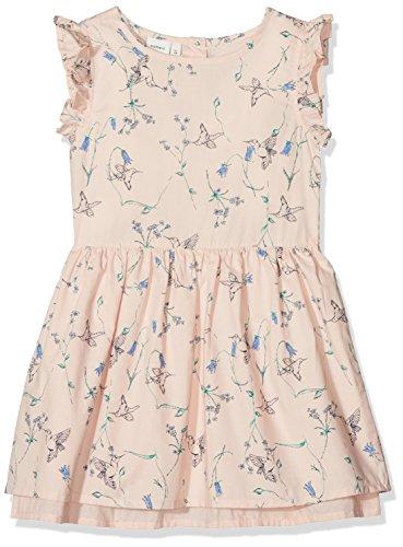 NAME IT Mädchen Kleid NMFVALAIA Spencer WL, Mehrfarbig (Peachy Keen), 116