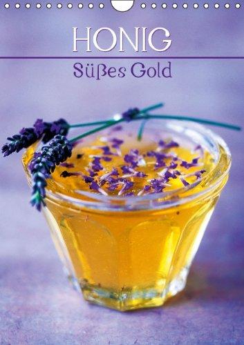 Honig - Süßes Gold (Wandkalender 2015 DIN A4 hoch): Der Saft der Bienen (Monatskalender, 14 Seiten)