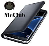 McClub LYF Water F1s Leather Look Black Flip Cover Case Original Leather Flip Cover All Sides Protection '360 Degree' Sleek Rubberised Matte Hard Case Back Cover