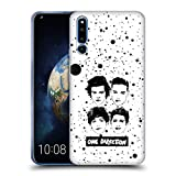 Official One Direction White Group Graphic Faces Soft Gel