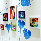CQSMOO Mauer Skulptur Foto Wand, europäischen Stil Bilderrahmen Wand Foto Wand Kombination Wohnzimmer by (Farbe : Multi-Color)