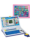 #9: High Quality Educational English Learner Laptop With Mouse For Kids 20 Activities Mini Educational Laptop For Children English Learner Gaming Laptop For Kids Mini Laptop With Mouse For Kids & children With 20 Fun Activites Enhanced Skills Of Children Premium Quality English Learner Laptop With Games For Kids Easel Learning Laptop For Kids Educational Purpose Mini Learner Laptop For Boy & Girls Best English Learner Laptop (Colour May Vary)