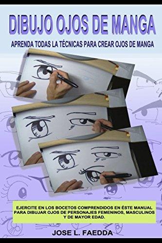 Dibujo ojos de manga por jose luis faedda