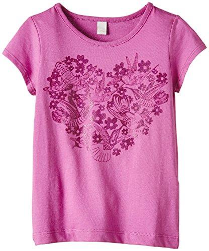 ESPRIT Baby - Mädchen T-Shirt, Gr. 116 (HerstellerGr.: 116/122), Rosa (Pink Fuchsia 660)