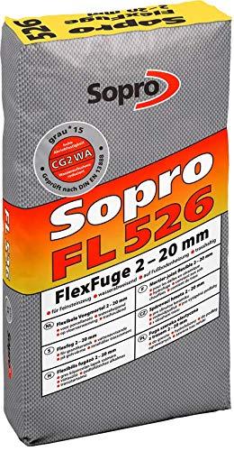 FlexFuge FL betongrau 14 Sack 25 KG