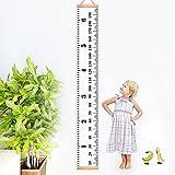 Medidor de altura, kbnian 79* 7.9inch tabla de crecimiento, altura regla, medidor de altura para niños, habitación ideal decoración.