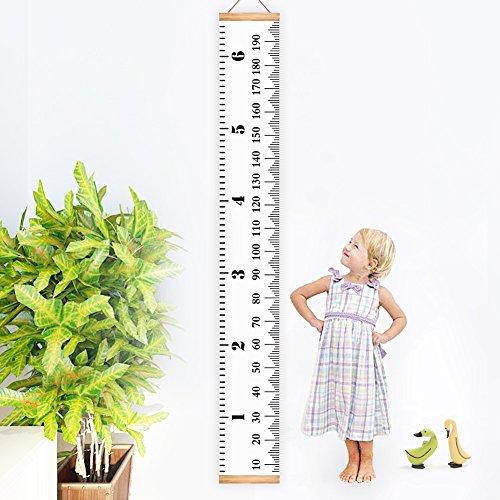 Höhe Diagramm, kbnian 200,7x 20,1cm Wachstum Diagramm, Höhe Lineal, Messlatte für Kinder, ideale Raum Dekoration. (Kind Wachstum Diagramm Hängen)
