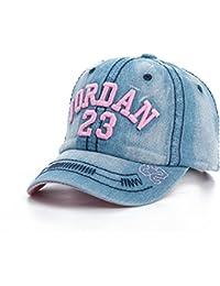 MAOCAP Sombrero de Vaquero para niños Gorra de niño Casco de niñas de Moda  Casual Gorra de béisbol Sombrero para el Sol Visor… 2bb98037dce