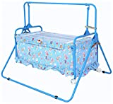 Furncoms 1033 Baby Cradle Bed with Mosqu...