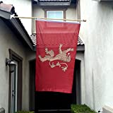 Bannerflagge Haus Lannister 7,62 x 12,7 cm.