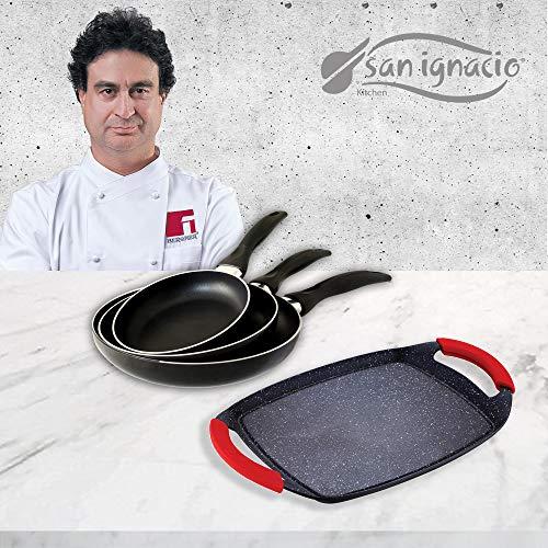 Pack San Ignacio Cune SIP con 3 sartenes + Plancha grill por 47,99€ ¡¡17% de descuento!!