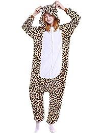 """Free Fisher Damen/Herren """" Tier""""-Kostüm Jumpsuit Schlafanzug Pyjamas Einteiler"""