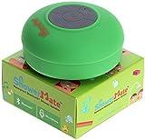 Showermate Wireless Bluetooth Lautsprecher | Wasserdichtes Duschradio mit Freisprecheinrichtung und eingebautem Mikrofon | Kompatibel mit allen Bluetooth Geräten – Grün