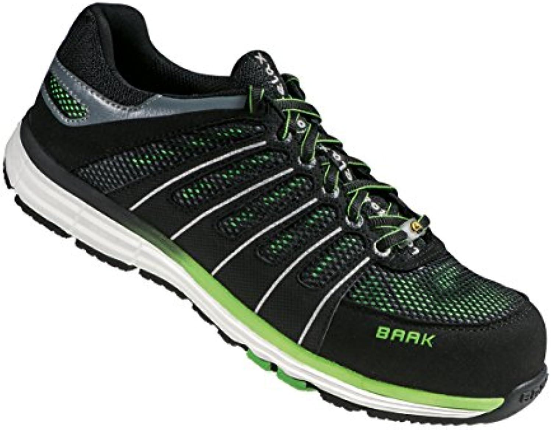 baak baak baak reeny, unisexe adultes & eacute; src des chaussures de sécurité, polychrome (noir / ve rt), 10.5 u k (4 4 ue) b01mr3bsds parent c03a17