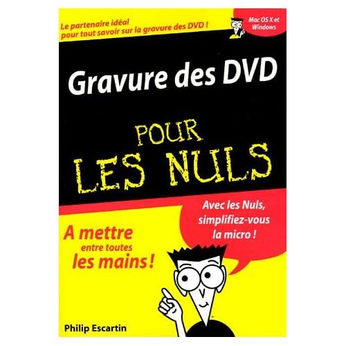 Gravure des DVD pour les nuls