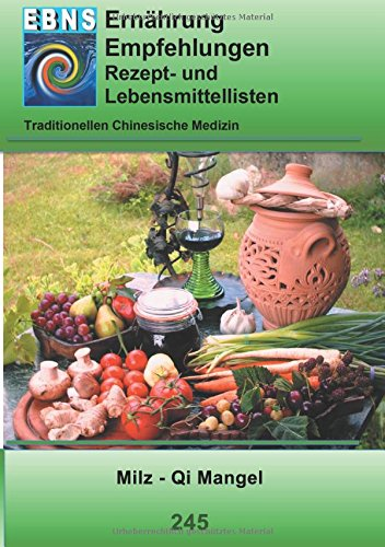 Milz - Qi Mangel: TCM-Ernährungsempfehlung - Milz - Qi Mangel (TCME Ernährungsempfehlungen)