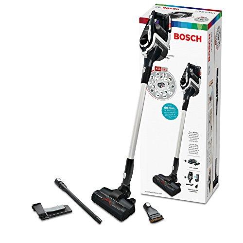 Bosch BBS1114 Unlimited Serie 8 kabelloser Handstaubsauger (18V Mehr-Geräte-Akku, austauschbarer Akku, verlängerbare Laufzeit, Reinigung vom Boden bis zur Decke) schwarz