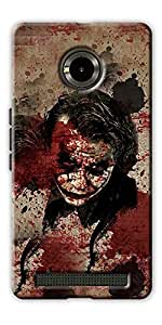 DigiPrints High Quality Printed Designer Soft Silicon Case Cover For Yu YuPhoria