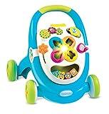 Smoby - 110304 - Cotoons Trott - Trotteur pour Enfant - MultiFonction - sons et Lumières - Rose