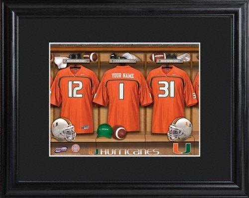 college-with-wood-frame-miami-hurricanes-football-locker-room-print