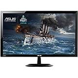 Asus VX248H 61,0 cm (24 Zoll) Monitor (VGA, 2x HDMI, 1ms Reaktionszeit, GamePlus, FlickerFree) schwarz