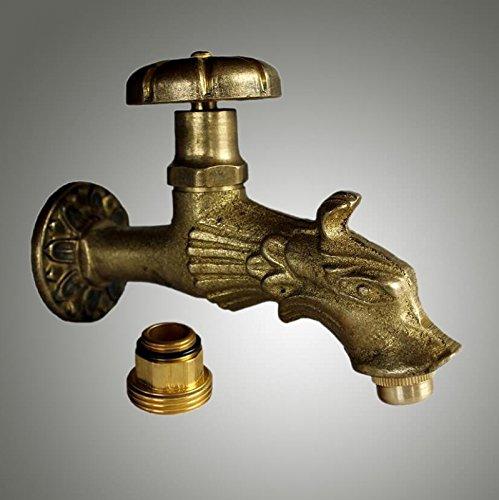 Jardin robinet fontaine Rêve Palazzo Int laiton antique – Robinet laiton