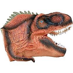 Marioneta para mano Dinosaurio realista detalles jurásico jugar juguete
