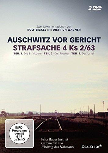 Auschwitz vor Gericht - Strafsache 4 Ks 2/63 (2 DVDs)
