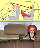 BebiVista Babyschalenspiegel - Rückspiegel um Babys in Babyschalen oder Reboardern