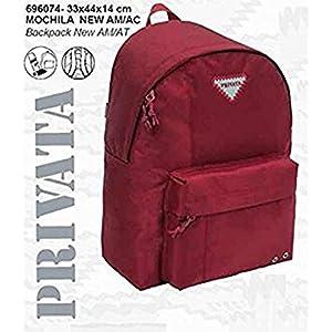 Mochila privata Premium roja