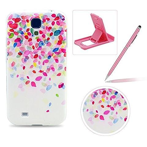 Für Samsung Galaxy S4 Mini Hülle Silikon Schutzhülle Tasche Case,Weiches