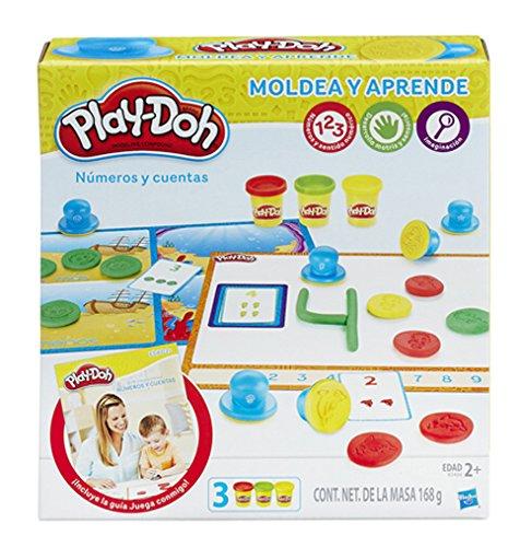 Play-Doh- Aprende a Contar números, (Hasbro B3406105)